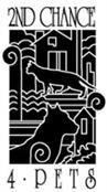 2nd Chance 4 Pets (Franklin, Tennessee) logo with a cat dog and houses